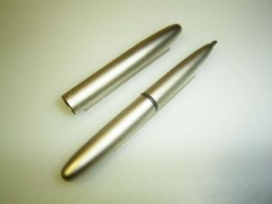 Fisher Space pen ballpoint, pocket, titanium coated