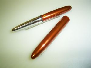 Fisher Space pen ballpoint, pocket, rustred