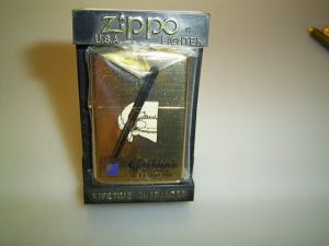 CONKLIN ZIPPO lighter, limited edition, #1625