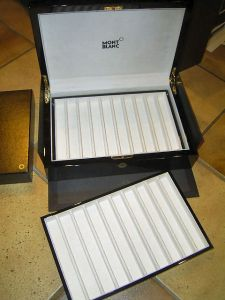 Montblanc box for 20 pens, high end class