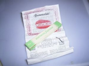 Mentmore Supreme box with instructions