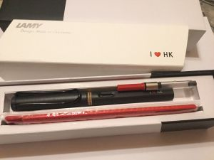 LAMY Safari pen, made for Hong Kong, umbra