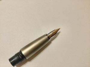 LAMY Studio nib, 14 Karat M, with section