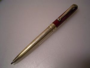 Montegrappa 300 Mini pencil, red (mechanism needs attention)